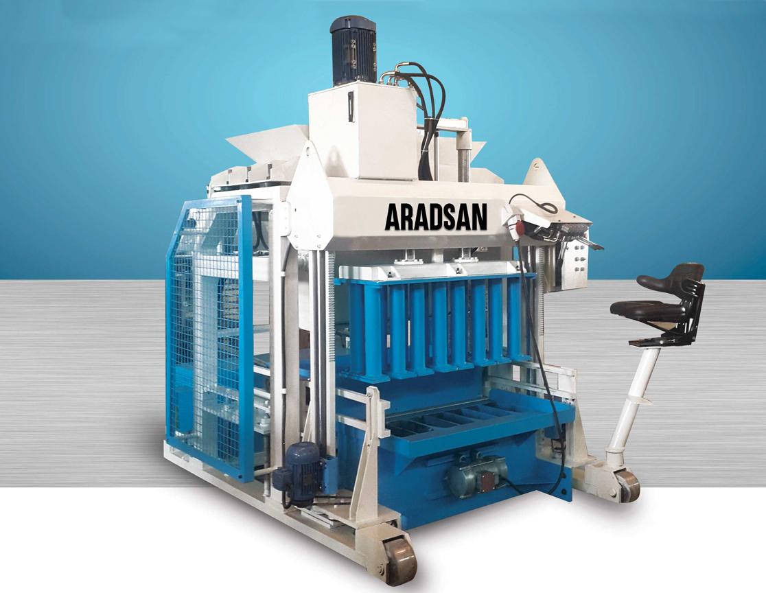 Automatic Portable Wall Block Making Machine KAD1400