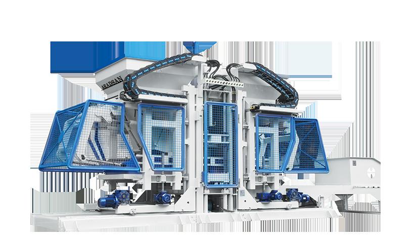 Full Otomatik Beton Blok, Bordur, Parke Taşi Yapma Makinesi