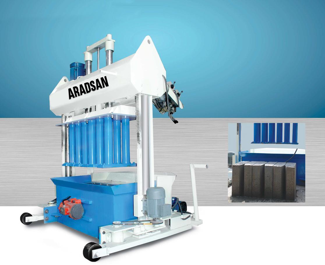 Hydraulic Movable KerbStone Machine KAD1200
