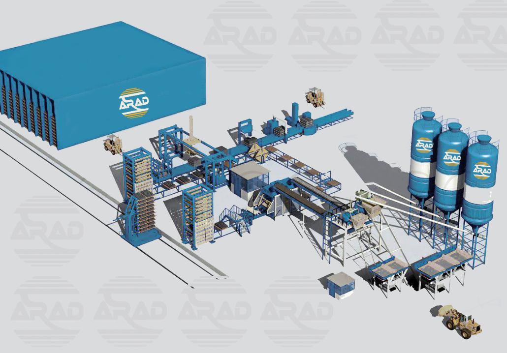 Full Automatic Concrete Production Line