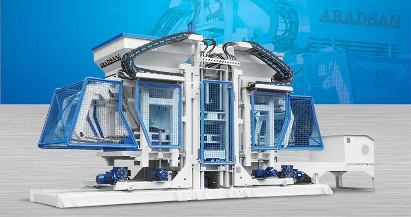 Full Otomatik Beton Parke Taşi Yapma Makinesi