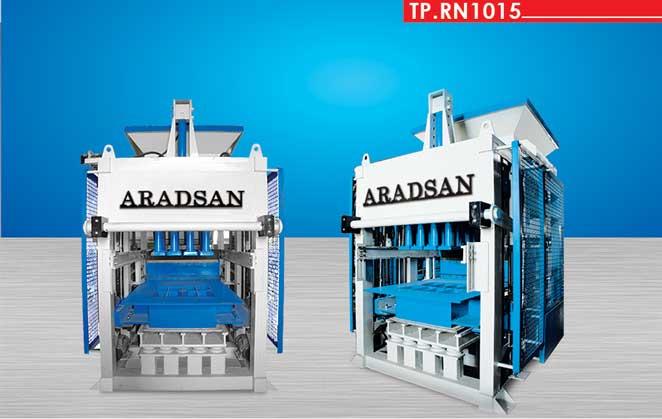 Beton Blok Üretim Makinası TP.RN1015 I