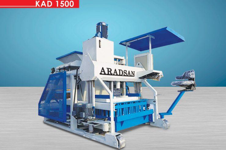 Yürüyen Briket Makinası KAD1500