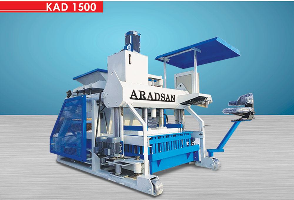 briket üretım makinası KAD1500