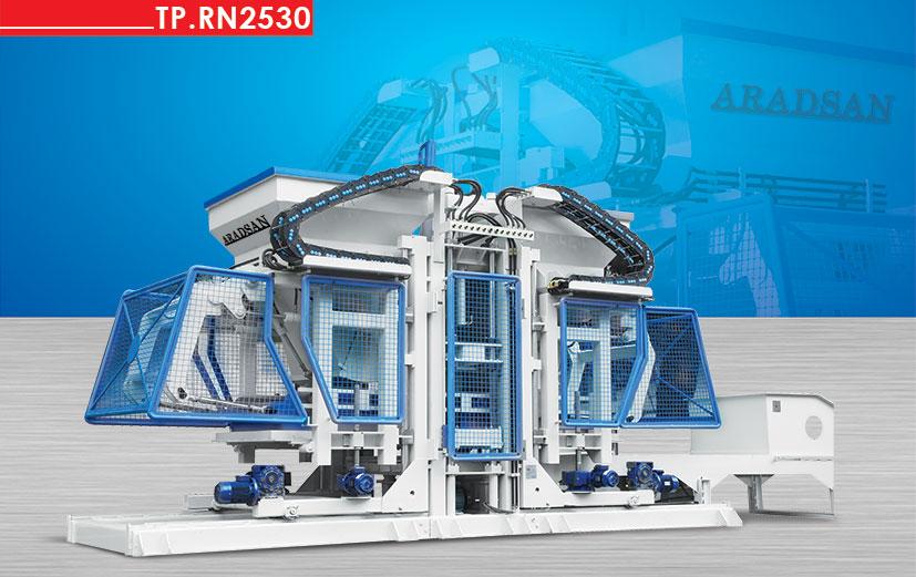 Full Otomatik Beton Blok,Bordür,Kaldidim taşı Makinası