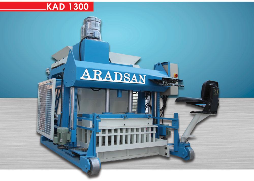 Yürüyen Blok Ve Bordur Makinası KAD1300
